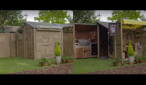 Backyard Bbq Sheds This Ultimate Bbq Shed Will Make Your Bbqs The Best