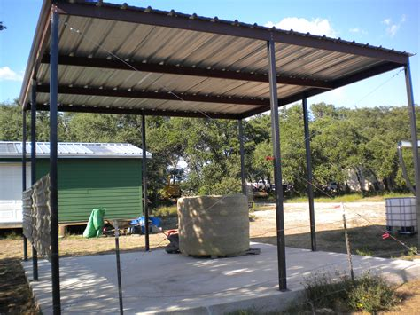 steel awning all steel awning blanco carport patio covers