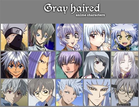 anime hairstyles personality personality based on hair color anime amino