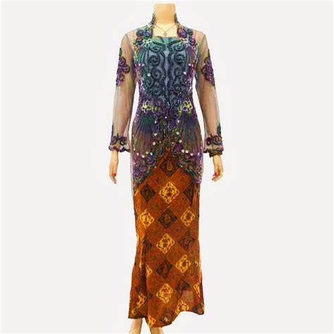 Kebaya Tile Payet Mawar 001 kebaya batik wanita modern kode kbw 125 batik bagoes