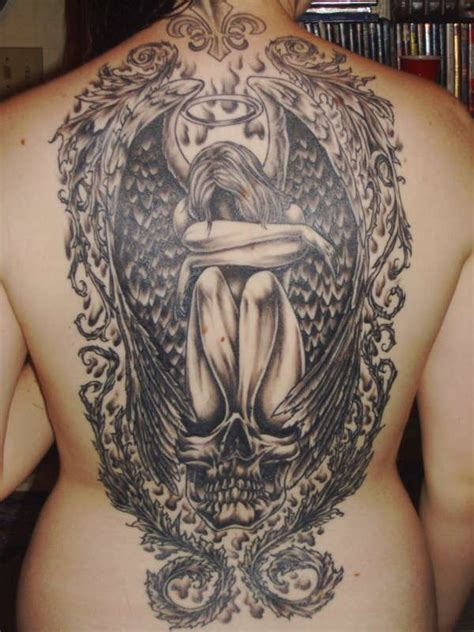 angel demon tattoos for men 160 best tattoos for 2017 collection