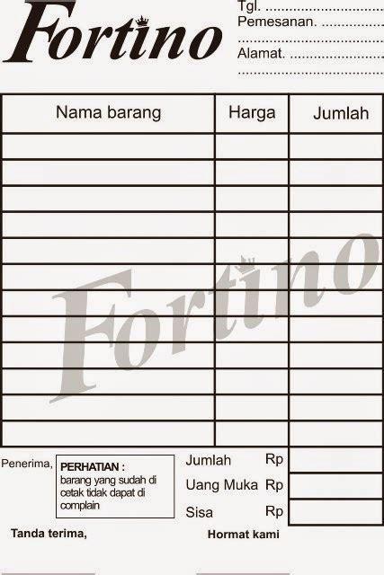 contoh desain kartu nama bengkel las contoh nota faktur service laptop bukti pembayaran nota