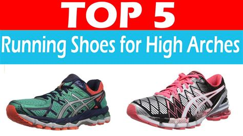 best athletic shoe for high arches best running shoes for high arches