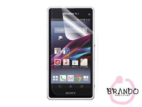 Sony Xperia Z1 Fs Anti Glare Clear Anti Gores brando workshop ultra clear screen protector sony xperia z1 compact z1f