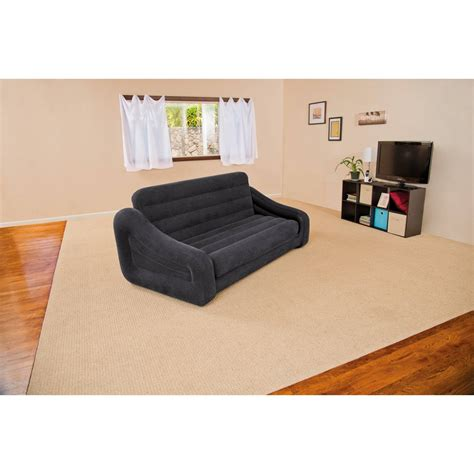 blow up pull out couch inflatable pull out air sofa bed mattress sleeper blow up