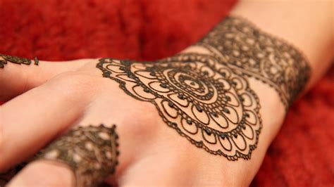 floral henna tattoo wallpaper 11708
