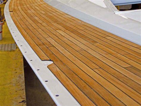teak deck option modification on zanshin teak decks and rubstrake