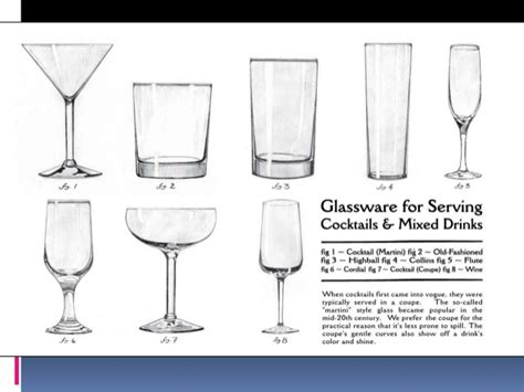 types of barware pics for gt types of cocktail glasses