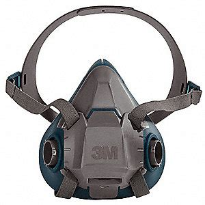3m 3m half mask respirator, respirator connection type