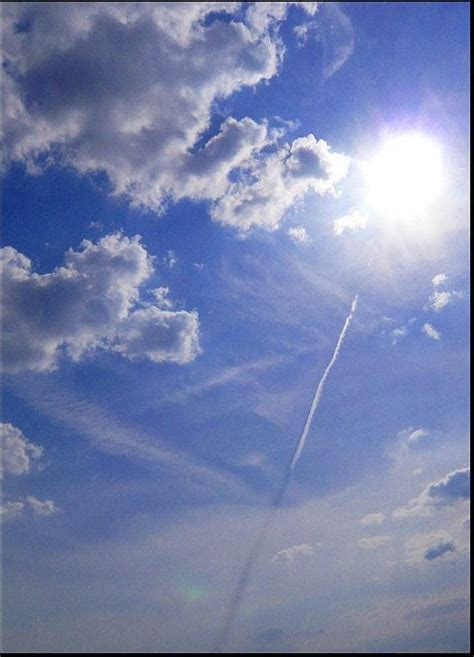 Shadow In The Sky contrails lines black beams chemtrails