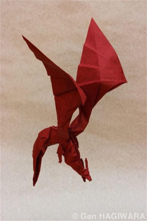 Origami Winged - 10 more amazing origami dragons epic fail