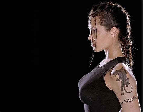 angelina jolie tiger tattoo 12 tattoos