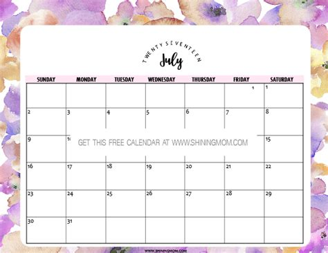 printable calendar pretty search results for free printable calendar cute