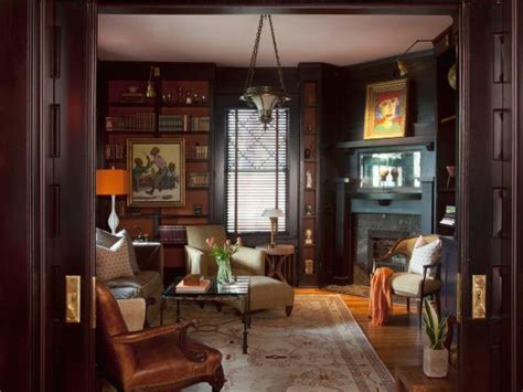 spare room turns sophisticated study hgtv