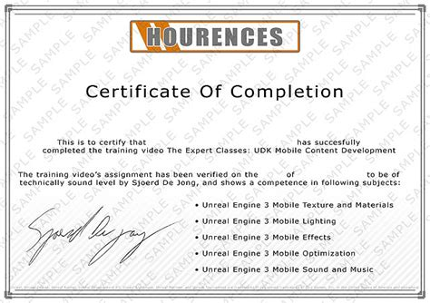 certificate design tutorial hourences com unreal engine and level design tutorials