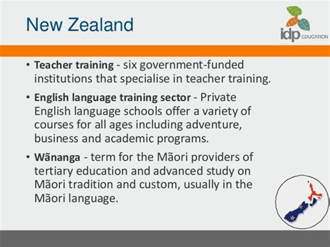 Mba Finance In New Zealand by Idp Thailand Powerpoint Presentation