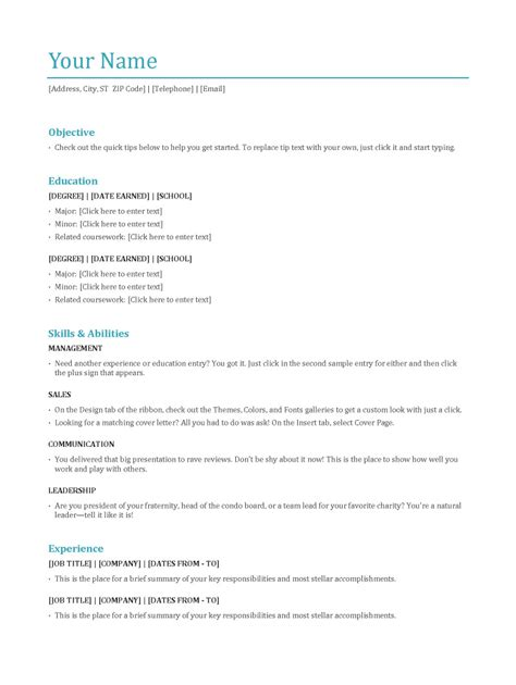 functional resume format what are the 3 resume types jobcluster