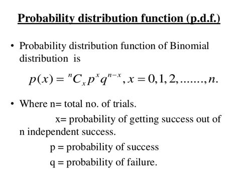 probability distribution function unit 1 probability