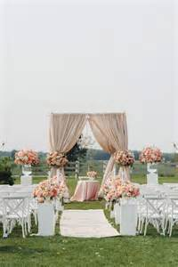 Wedding Inspiration An Outdoor Ceremony by 14 Amazing Outdoor Wedding Decorations Ideas