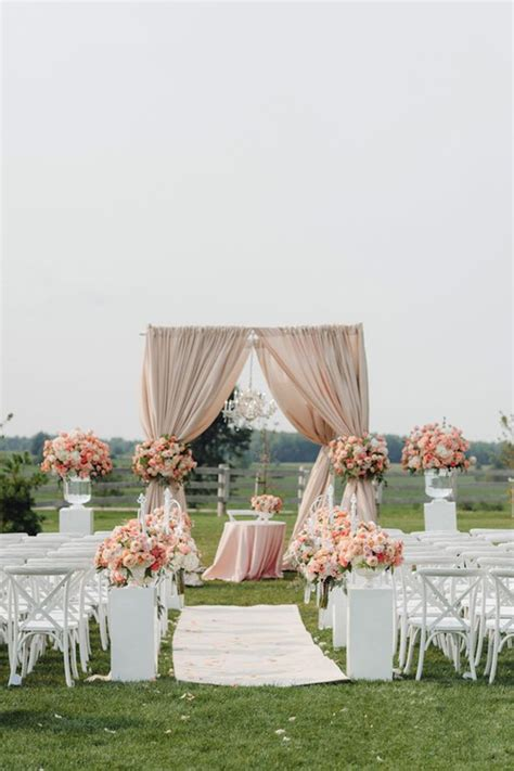 Outdoor Wedding Ceremony Decorations by 14 Amazing Outdoor Wedding Decorations Ideas