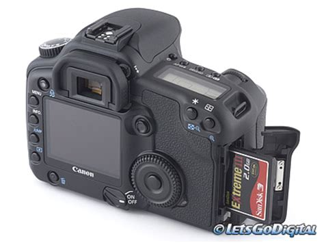 canon eos 30d digital camera review storage and energy
