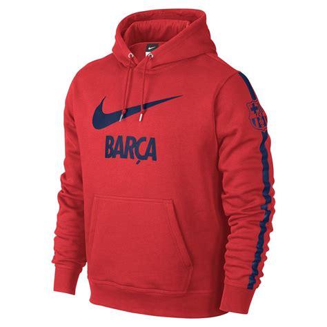 Sweater Nike Fc fc barcelona sweater hooded nike 14 15 crimson blue