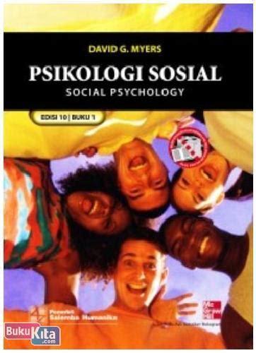 Psikologi Sosial 1 Edisi 10 David Myers bukukita psikologi sosial 1 10e toko buku