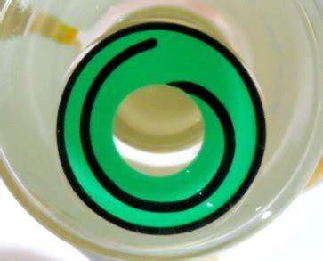 contact lens geo crazy lens sf 80 green hypnotic halloween