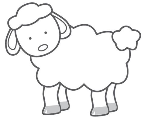 sheep template printable free sheep template new calendar template site