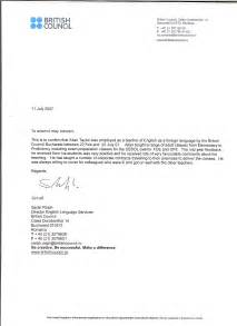 Business Letter Writing Reference Teaching Experience