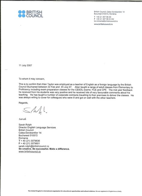 Recommendation Letter For Zoology Student Recommendation Letter From Chainimage