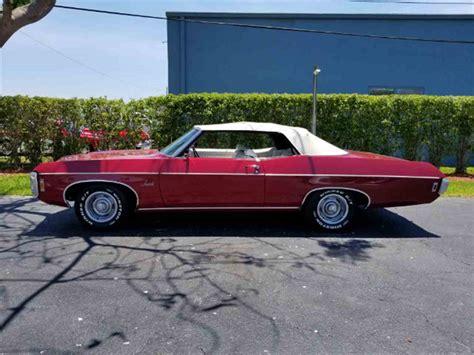 1969 impala convertible for sale 1969 chevrolet impala for sale classiccars cc 984520
