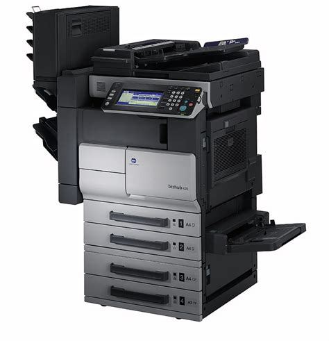 Printer Scanner With Document Feeder konica bizhub 420 copier scanner w document feeder