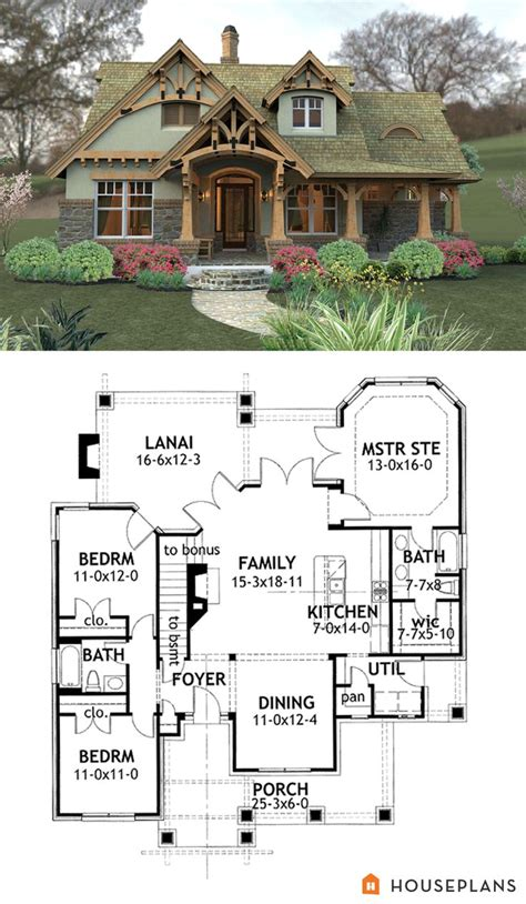 craftsman mountain home plans craftsman mountain house plan and elevation 1400sft