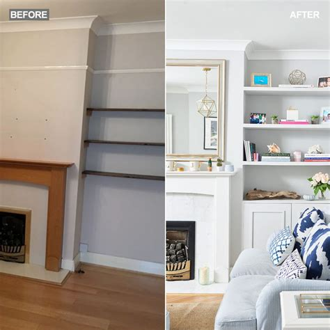 Livingroom Makeover by Before And After Coastal Living Room Makeover