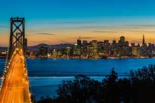 San francisco california usa bridge bay bridge oakland san