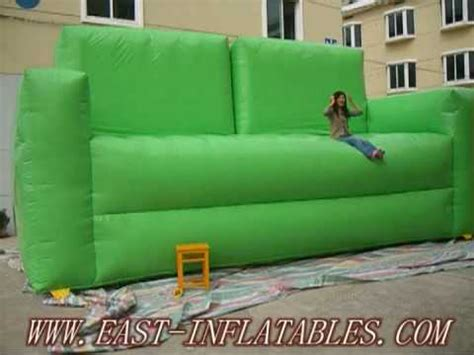 giant inflatable sofa east inflatables warning when you on the giant inflatable