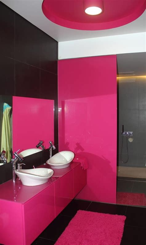 pink black and white bathroom decor black and pink bathroom with design bathroom equipments