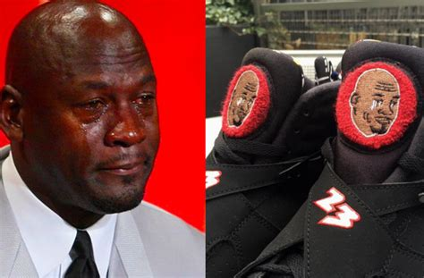Crying Jordan Memes - the crying michael jordan meme just took a turn for the bizarre aol news