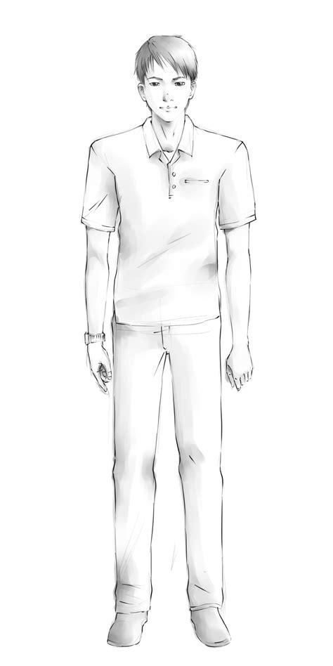 Gambar Orang Sketsa