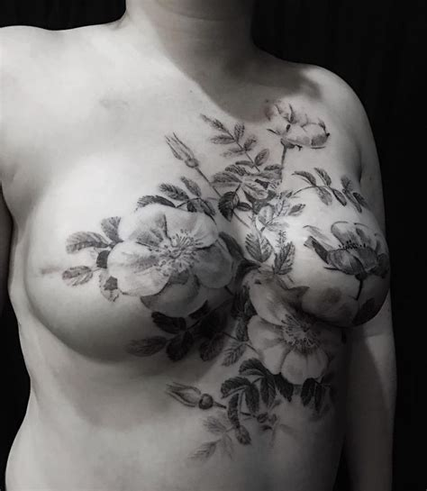 tattoo cover up on breast 374 best images about tattoos for mastectomy breast