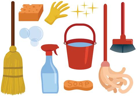 free vector free cleaning vectors free vector stock