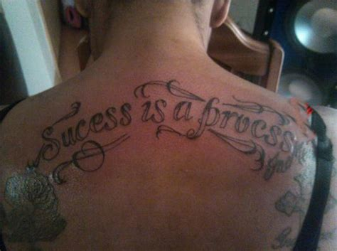 success tattoo bad tattoos 9 more of the awfully worst tat team jimmy joe