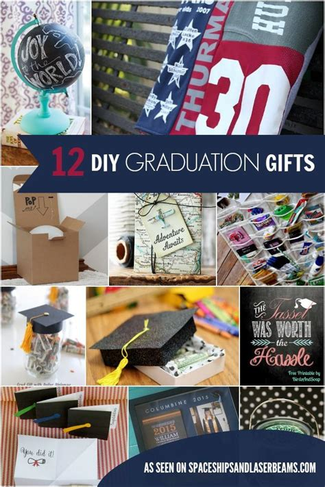 inexpensive graduation gifts 12 inexpensive diy graduation gift ideas spaceships and