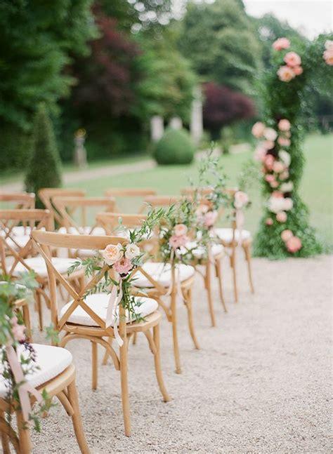 diy wedding ceremony chair decorations 20 must wedding chair decorations for ceremony