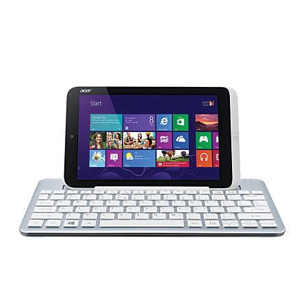 Tablet Acer Plus Keyboard acer iconia w3 810 bluetooth keyboard dock silver by