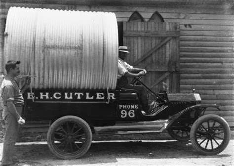 H And S Plumbing by File Statelibqld 1 111620 Ford Model T Truck Of E H