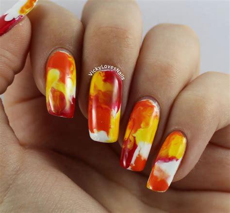 Simple Thanksgiving Nail 16 and easy thanksgiving nail tutorials