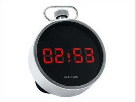 pocket alarm clock 11cm from karlsson