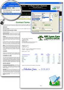 landscape estimating software lawn estimating software